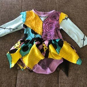 DISNEY TNBC girls Sally dress onesie 6-12 month